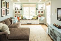 Home Ideas - Interiors / Room layouts, features, colors