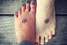 Mother Daughter Tattoos / Mother daughter tattoos are body adornments that you might not think existing. http://fabulousdesign.net/mother-daughter-tattoos/