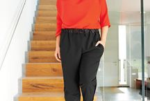Athleisure trousers / Relaxed, easy-to-make but stylish trousers