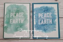 Stampin Up Christmas Card Ideas / Stampin Up, Christmas cards, card Ideas, Card Inspiration, Handmade Christmas Cards