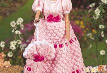 BARBIE-Crochet/Knit / by Trish Herman