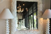 White Lacquer Furniture / Newly Lacquered White Furniture