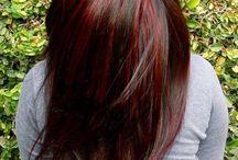 Hair cut and color ideas