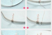 DIY - jewellery -hadband. ..