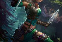 Elves, Fairies, Fantasy