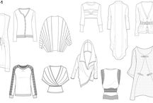 Fashion technic illustrations