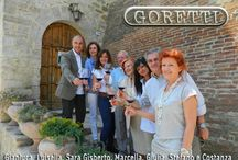 The Company / The Goretti winery began in the 1960s.The passion of the Goretti winery has been fundamental in a family history of wine making spanning generations, and it exists today as the family continue their participation in the Italian world of viticulture, with pride, passion and exceptional consistent quality.