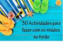 Actividades Para Crianças - kids activities / Sugestão de actividades para fazer com as crianças