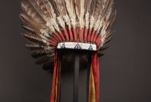 Plume, coiffe indienne