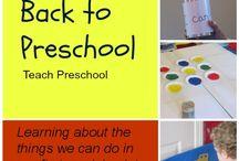 Preschool :: Back to School