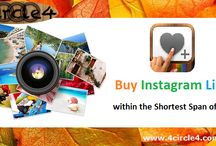 Buy Instagram likes and Followers / 4Circle4 help you to boost your image and the credibility among the users. Social networking is the best to show what you want. We help you to gain more likes which will increase the popularity and helps you to reach your goal. As you gain more likes it helps you to increase your followers and make it more trending between users.   Get Liked, Get Followed..!! Go Social With 4circle4 http://goo.gl/qDFj0N