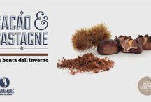 Cacao e castagne / Per informazioni e ordinazioni tel: 081 19935072 Mobile: 347 8543575 info@scaramure.it Scaramuré e le sue Bianche Alchimie sono anche a Roma,  al Nuovo Mercato di Testaccio, al box 75.