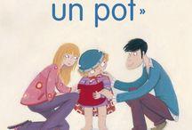 La propreté, le pot / Un sujet qui intéresse souvent les parents à un moment donner... des livres pour parler du pot, du pipi au lit...