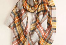 2017 FW Scarves / LookbyM's 2017 Fall/Winter Scarf Collection