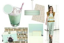 Color Trends / visual thoughts on putting our new palette together