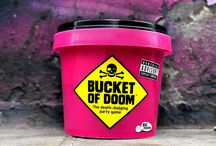Bucket of Doom - a fun party adult card board game / Bucket of Doom is  a fun party adult card board game for people who love dark situations. Blending an element of story-telling with scenarios that inspire sheer terror. Using an array of useless objects, players must compete to devise the most impressive getaway plan of all time. Great as a gift for someone's birthday, or student. Or a present for someone at Christmas! Buy from Amazon at http://www.amazon.co.uk/dp/B00Q6U2LP0
