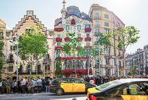 Gràcia - Barcelona, Spanien / Barcelonas Altstadtviertel Gràcia hat vielen Kreativen eine Bühne geboten. Die Bauten von Gaudí sind nicht weit. Gràcia steht für das Selbstbewusstsein, Stärke und Leidenschaft.