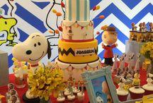 Snoopy birthday theme