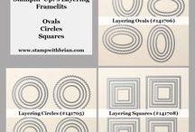 Layering Framelets - Measurements