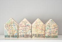 Decor ideas : casitas de madera
