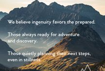 Beliefs / What we're all about. Getting out. Having adventures and making them as easy and enjoyable as possible.
