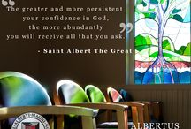 Our Dominican Spirit  / For more information about our Dominican spirit, go to: http://www.albertus.edu