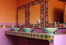 Traditional Mexican / Mexican decorating themes show the influences of Central American styles, as well as ancient Aztec and Mayan civilizations.  It is not just popular in Mexico, but all over the world, particularly in the USA, where it was introduced with the Spanish Colonial period.  Mexican interior design is for you if you love colors, and are prepared to make a really bright and bold statement in your home.