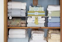 Linen Closets / by Sarah Gill @ Alderberry Hill