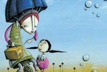 ilustradores infantis / by ana badollato