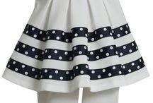 dievčenské šaty a oblečenie