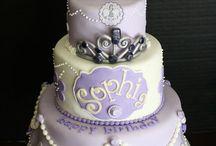 Sophia the 1st cake