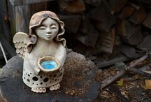 Keramika, anděl