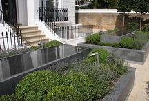 Water Feature Metal Work | Our Work / Stainless steel framwork developed for both the transport and installation of this beautiful granite water feature