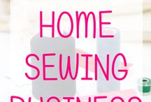 Starting a business with sewing
