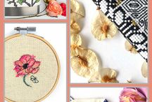 Adorned Life Collection - Cross Stitch Gifts / Show off your cross stitch skills every day with the Adorned Life Collection.