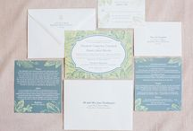 Natural Botanical Wedding / Nature inspired, works for any season, soft hues, outdoor setting.