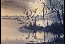 laghi e riflessi