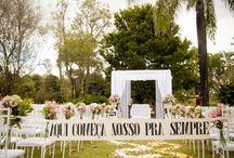 Casamento ao ar livre  / Sonho , deixa tudo mais bonito , tanto em fotos como a decoração