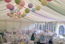 pastel colors wedding theme