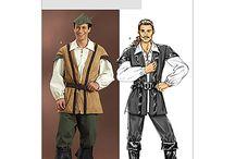 Ballet MEN'S costume