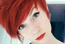 short redhead hairstyles