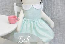 wykroje lalki