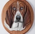 Pet Portraits / Hand Carved Pet Portraits