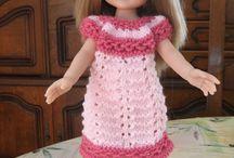 Mes réalisations Tenues Poupées Paola Reina et Chérie / Mes réas de tenues de poupées