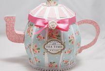Teapot e Tea Cup