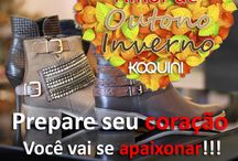Amor de Outono Inverno / Você vai se apaixonar pelos sapatos, botas e bolsas da nova coleção Koquini Outono/Inverno 2015