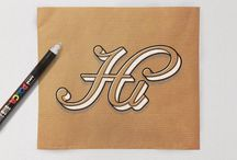 Brown Paper typography