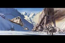 Ralph McQuarrie Star Wars concept art(Rip Ralph...)