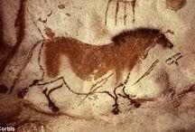 barlangrajzok, ősi jelek, / az emberiség első lenyomatai,