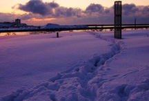 HOME TOWN (snowy town in JAPAN) / Kashiwazaki,Niigata,JAPAN. I was born and grew up here.